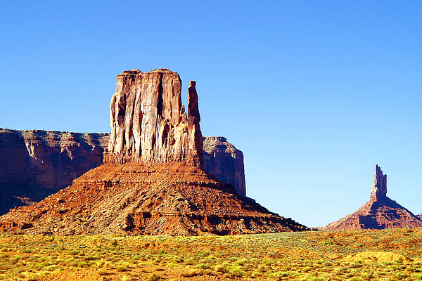 West Mitten - Monument Valley Print by Douglas Taylor