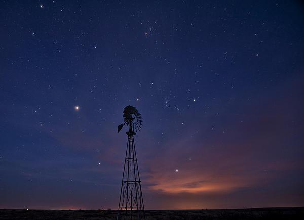 Melany Sarafis - West Texas Sky