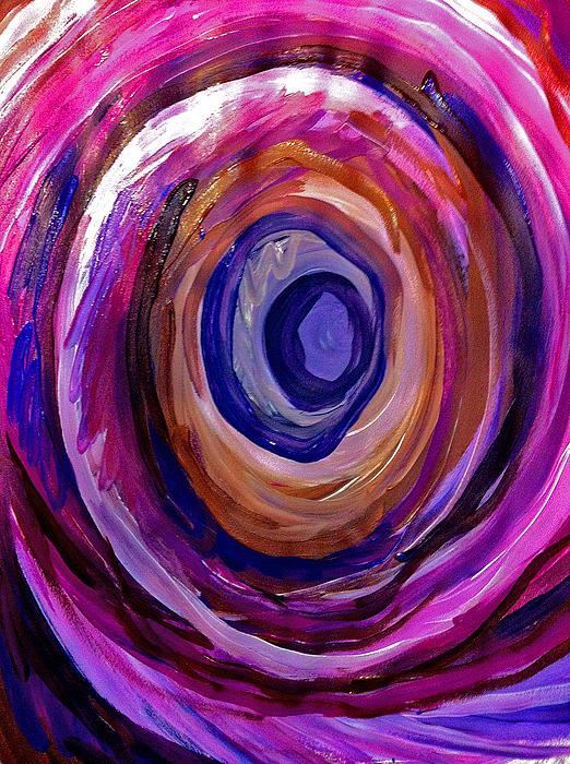 Wheel Print by Laura Tarnoff