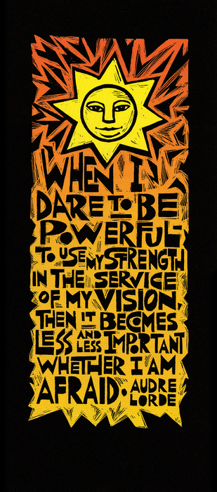 When I Dare Print by Ricardo Levins Morales