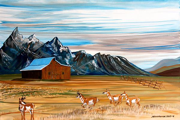 Mike Nahorniak - Where the Antelope Play