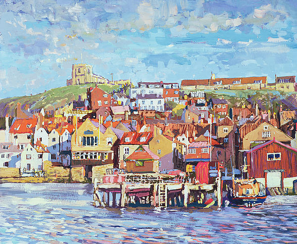 Whitby Print by Martin Decent