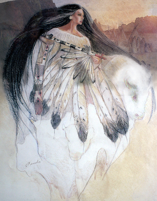Pamela Mccabe - White Buffalo Calf Woman