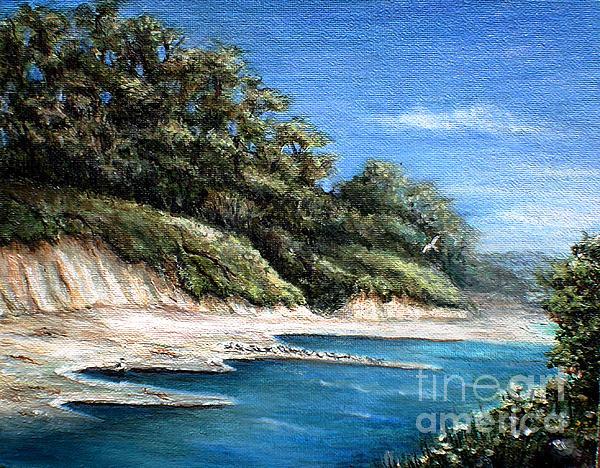 White Cliffs Print by Danuta Bennett