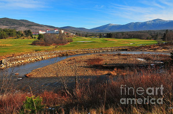 White Mountains Scenic Vista Print by Catherine Reusch  Daley
