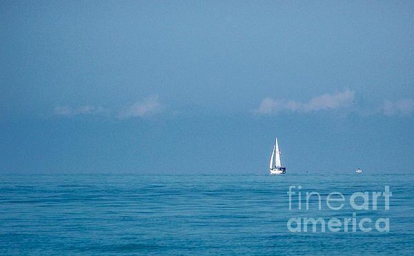 Kathy Liebrum Bailey - White Sails