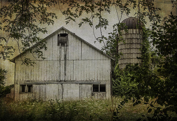 Kathleen Scanlan - White Wisconsin Barn