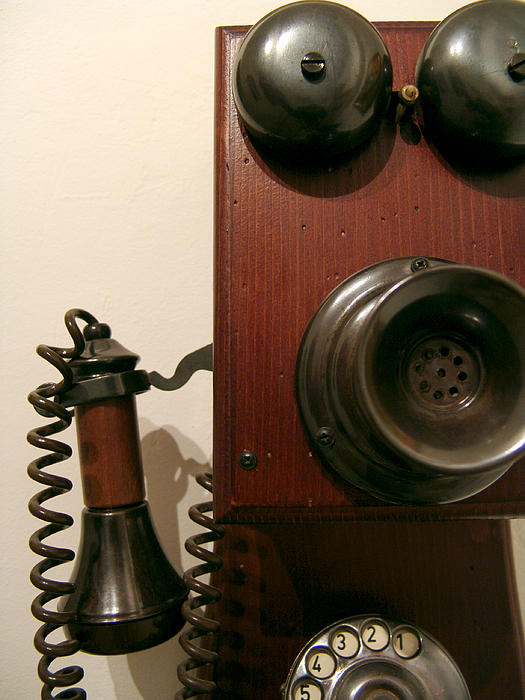 Who's Calling... Print by Alessandro Della Pietra