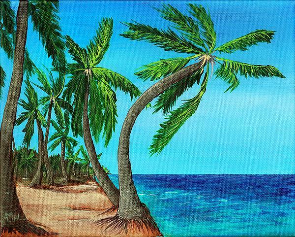 Wild Beach Print by Anastasiya Malakhova