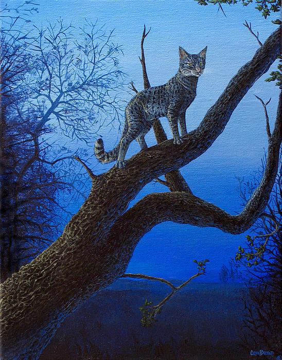 Wild Blue Print by Cara Bevan
