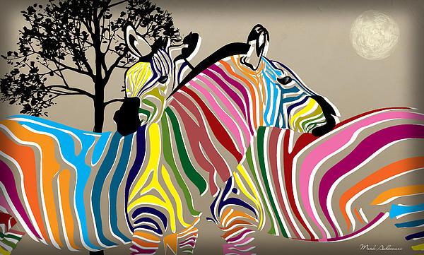 Wild Love 2 Print by Mark Ashkenazi
