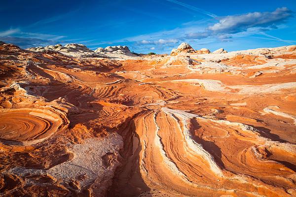 Wild Sandstone Landscape Print by Inge Johnsson