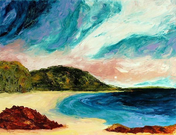 Wild Sky Over The Bay Print by Scott Jackson