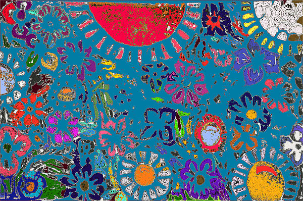 Wildflowers Print by Jame Hayes
