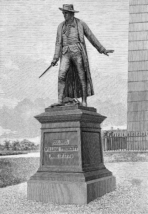 William Prescott (1726-1795) Print by Granger