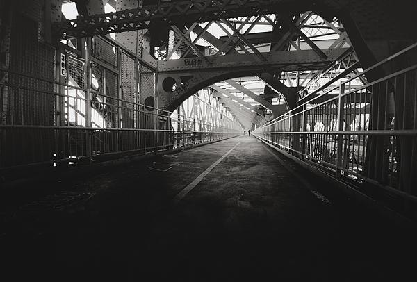 Williamsburg Bridge - New York City Print by Vivienne Gucwa