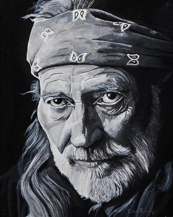 Willie  Print by Brian Broadway