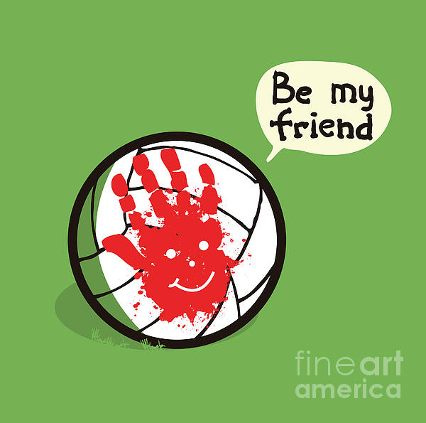 Wilson Best Friend Forever Print by Budi Satria Kwan