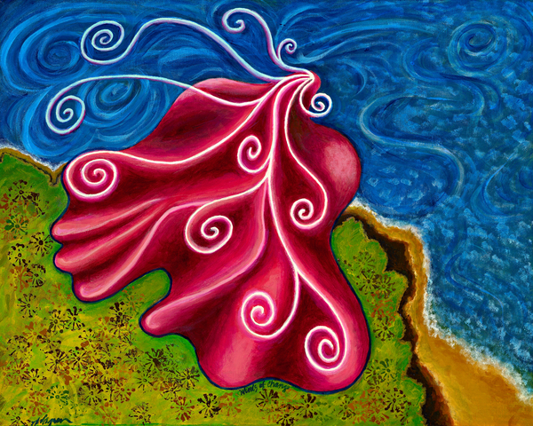 Winds Of Change Print by Annette Wagner