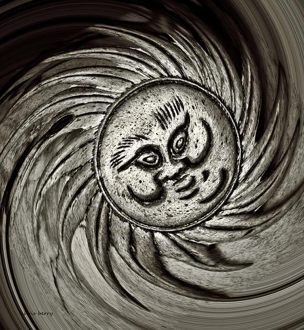 Windy Sun Print by Chris Berry