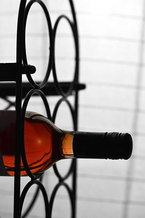 Wine Rack Print by Toppart Sweden