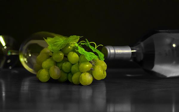 Wine Print by Stephen Smith