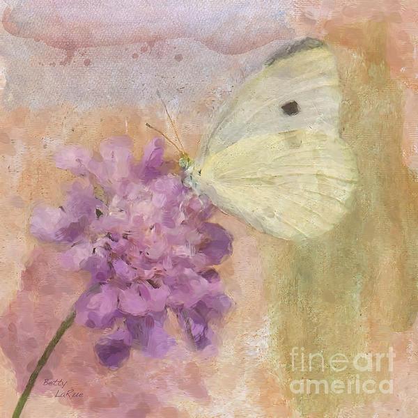 Wings Of Beauty Print by Betty LaRue