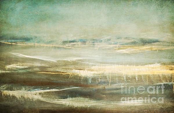 Winter Beach Print by Iris Lehnhardt