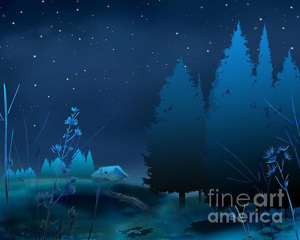 Bedros Awak - Winter Blue Night