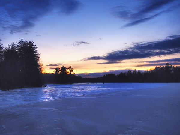 Winter In New England Print by Joann Vitali
