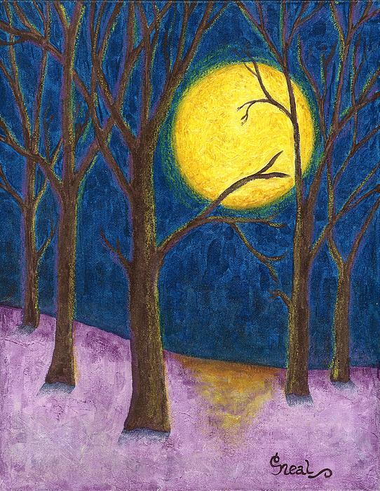 Carol Neal - Winter Moon