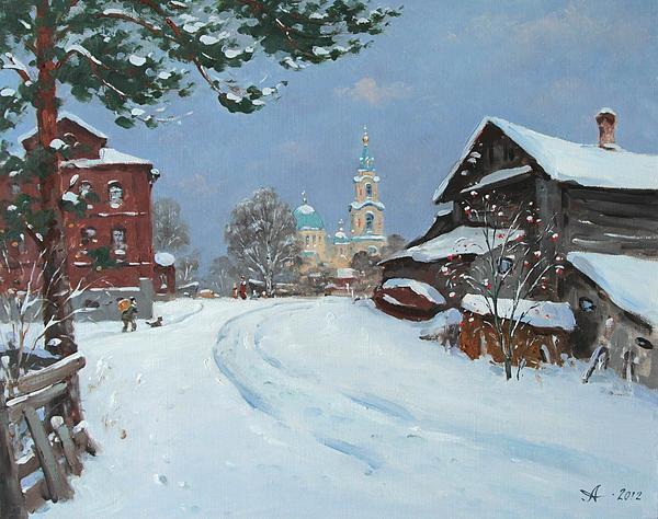 Alexander Alexandrovsky - Winter on Valaam