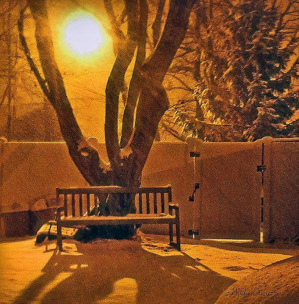 Winter Scene Print by Mikki Cucuzzo