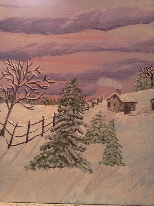 Winter Solitude Print by Renee McKnight