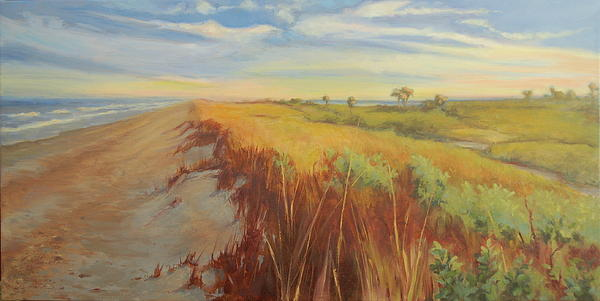 Laura Bates - Winter Sunset at Canaveral