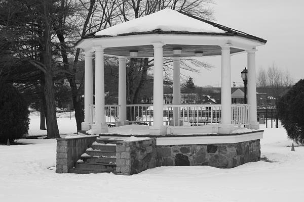 John Telfer - Winter Time Gazebo