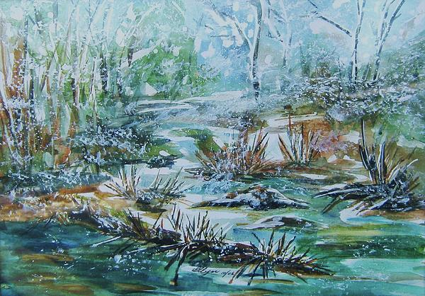 Ellen Levinson - Winter Whispers on Catskill Creek