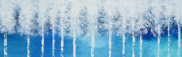 Wintry Mix Print by Linda Bailey