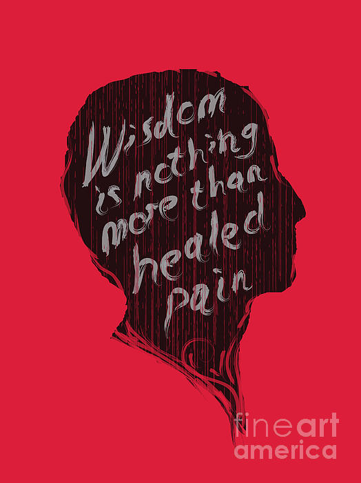 Wise Words Print by Budi Kwan