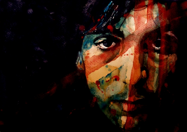 Wish You Were Here Syd Barret Print by Paul Lovering