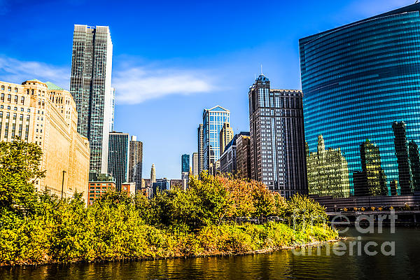Wolf Point In Chicago Print by Paul Velgos
