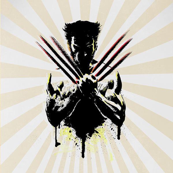 Wolverine Print by Mark Ashkenazi