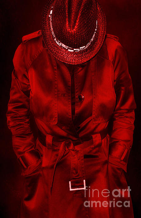 Woman In Red Print by Svetlana Sewell