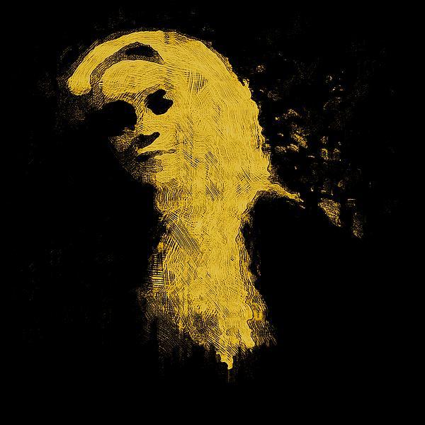 Woman In The Dark Print by Pepita Selles