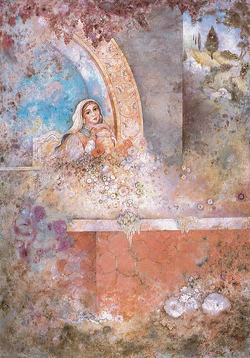 Woman Of Valor Print by Michoel Muchnik