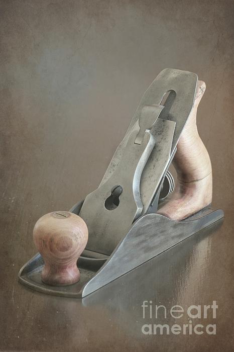 Wood Plane Print by Sophie Vigneault