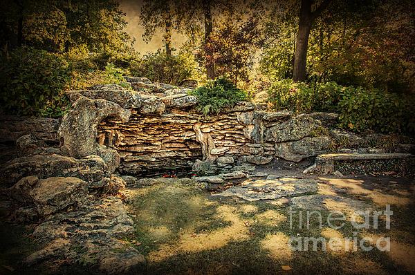 Woodard Park Koi Pond Print by Tamyra Ayles