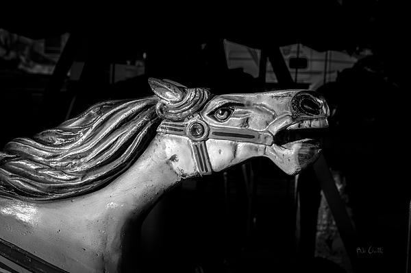 Wooden Pony Print by Bob Orsillo