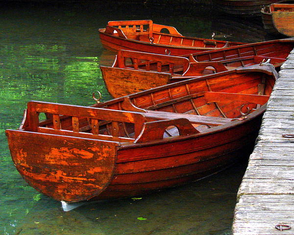 Ramona Johnston - Wooden Rowboats