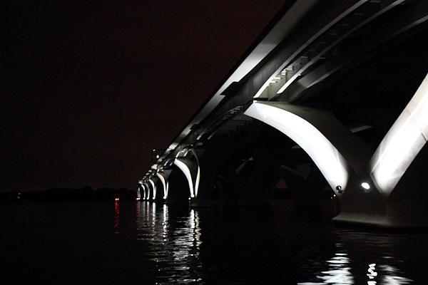 Woodrow Wilson Bridge - Washington Dc - 011319 Print by DC Photographer